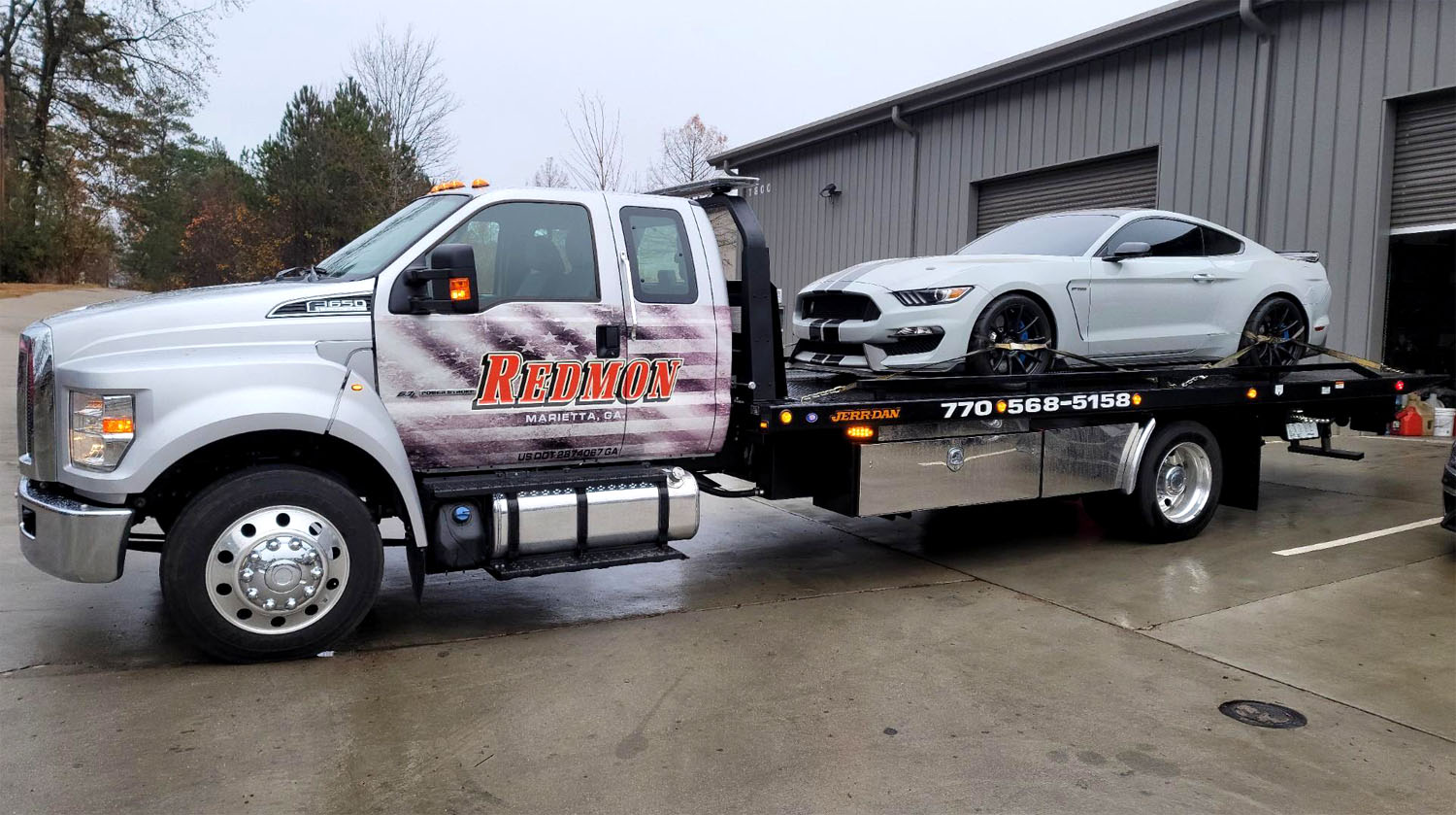 Wrecker Service and Towing Service in Marietta GA